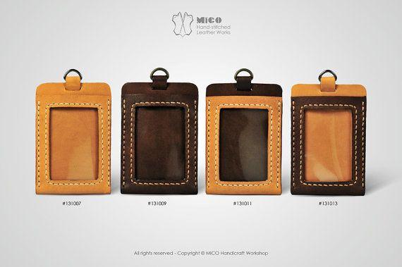 MICO Badge holder/ ID Pass holder/ Badge Lanyard by MicoHandicraft, $259.00