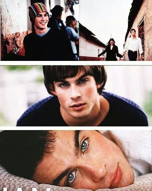 A very young Ian Somerhalder. HAHA. he was always gorgeous <3