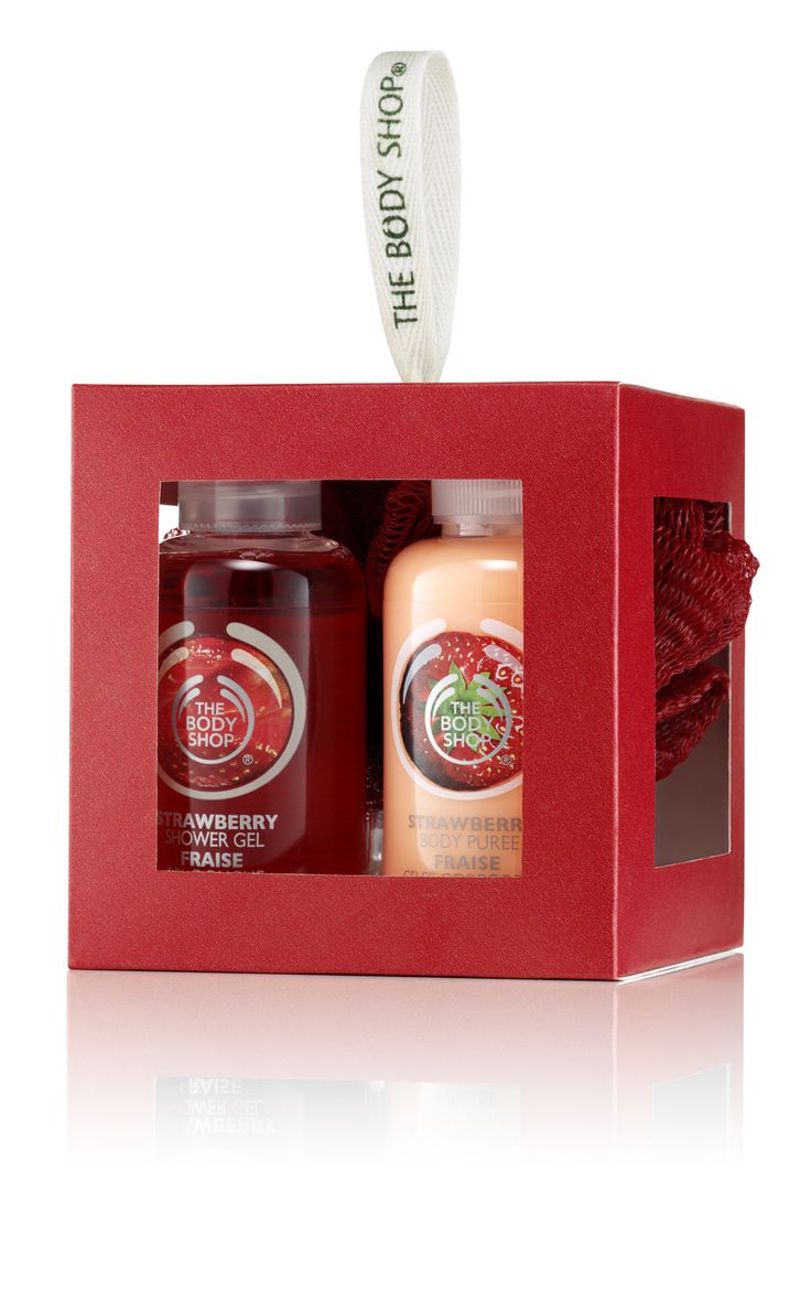 The Body Shop Strawberry Gift Cube R100.00
