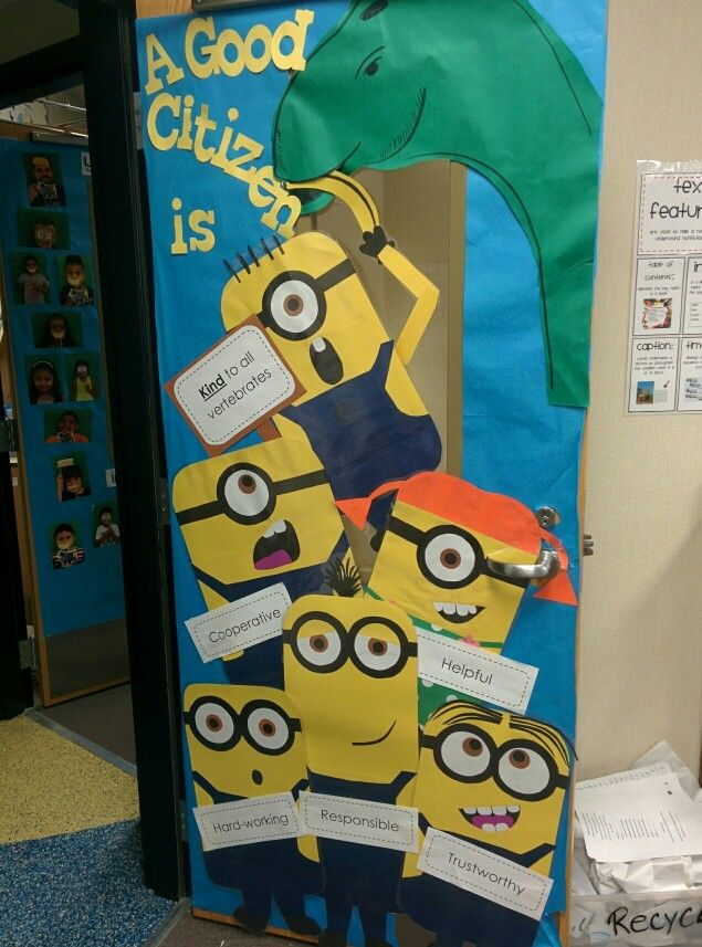 Best 25 Minion Door Decorations Ideas On Pinterest