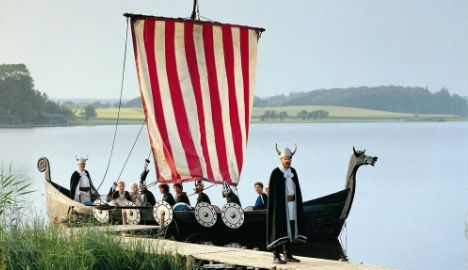 As many as 35,000 Danish Vikings moved to England to start a new life between 800AD and 900AD, a new study has estimated, with the researcher likening them to  economic migrants today.