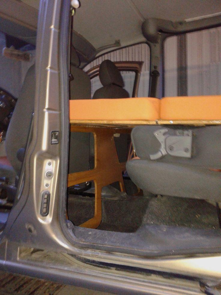 16 best f at doblo camper images on pinterest fiat doblo for Fiat doblo interieur