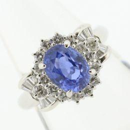 【中古】Pt900 サファイア リング/新品同様・極美品・美品の中古ブランド時計を格安で提供いたします。
