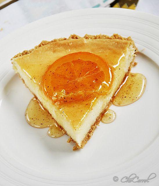 orange cinnamon cheesecake