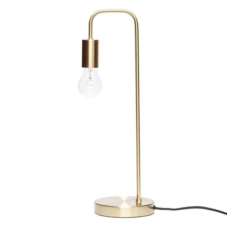 Brass table lamp. Item number: 890414 - Designed by Hübsch