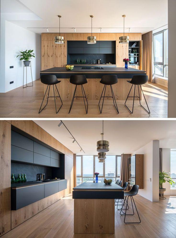 ZOOI Interior Studio haben eine große und offene Wohnung in Kiew entworfen
