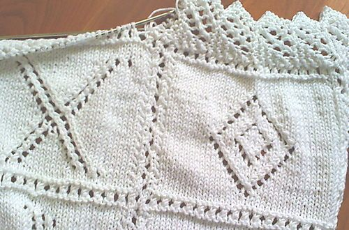 Knitting Edge Stitch Patterns : Knit lace edging pattern knitting pinterest