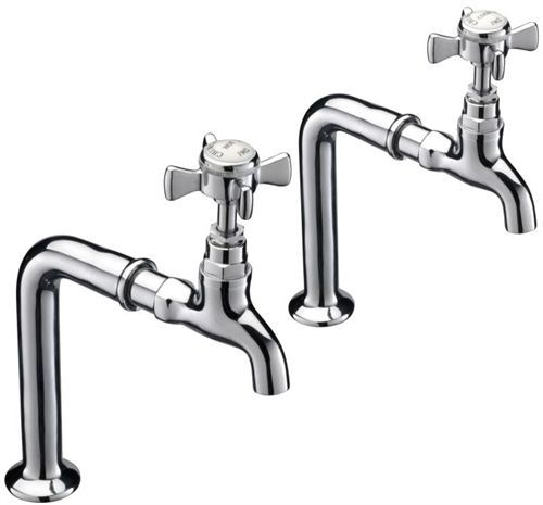 Antique Traditional Style York Pillar Taps - Ideal for Butler and Belfast Sinks | Home, Furniture & DIY, Kitchen Plumbing & Fittings, Kitchen Taps | eBay!