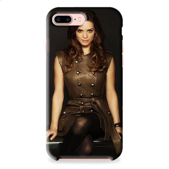 Lindsay Fonseca Brunette Stylish Dress Advertising iPhone 7 3D Case Dewantary