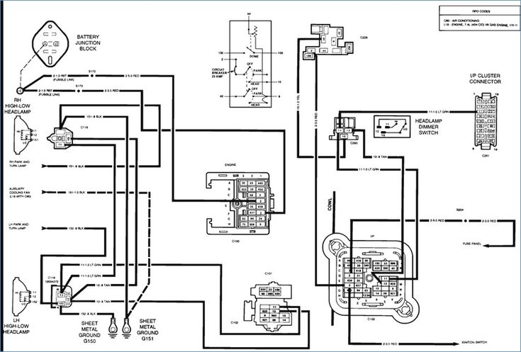 Home Wiring Diagram Wiring Diagram Ponents