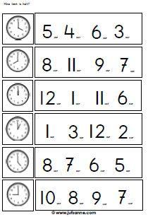 Tijd en klokken downloads » Juf Sanne