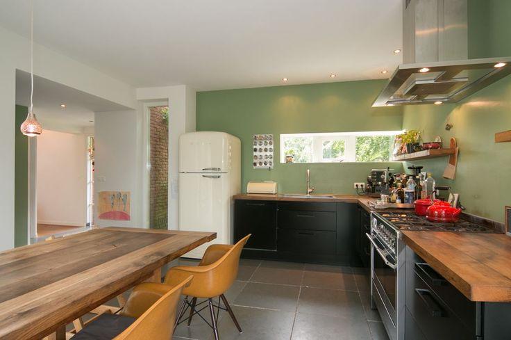 Landelijke Keuken Olijfgroen : Keuken op Pinterest – Bruine Woonkamers, Groene Keuken en Badkamer