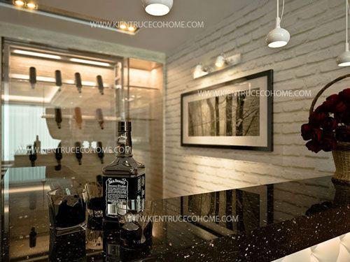Thiết kế nội thất nhà phố Hải Phòng, thiet ke noi that nha pho