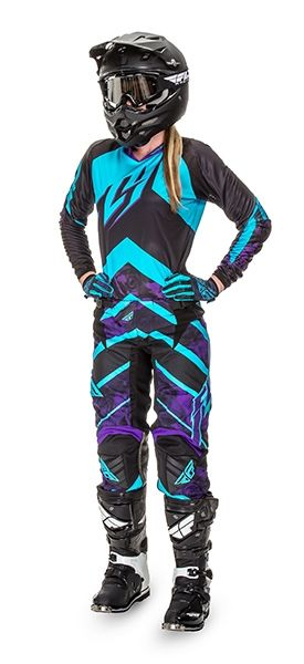Kinetic Women's Purple/Blue Racewear | FLY Racing | Professional grade Motocross, BMX, MTB, Offroad, ATV, Snowmobile, and Watercraft apparel and hard parts
