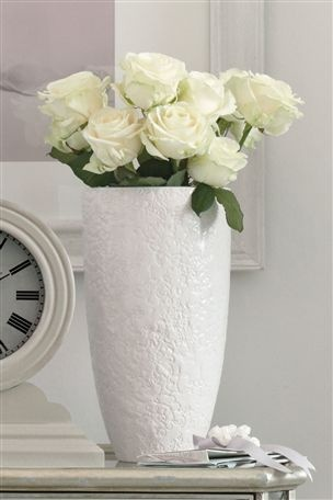 Ceramic Lace Vase