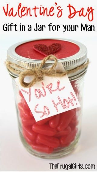 Party Frosting: Valentine's Day Ideas and Inspiration: Gifts/Party Favors in a Jar