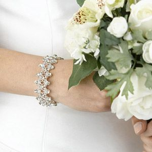 WeddingDepot.com ~ Rhinestone Bracelet ~