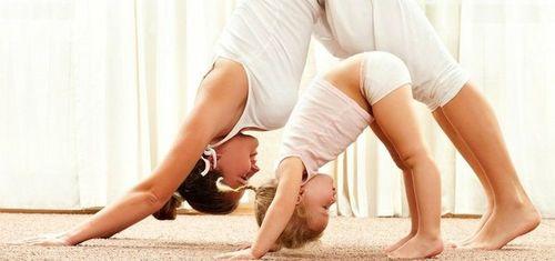 yoga parent maman enfant
