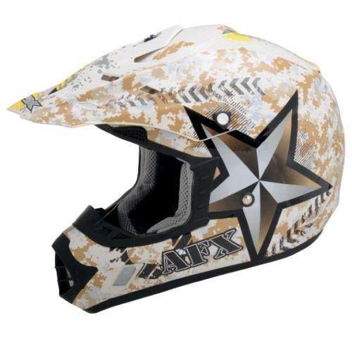Afx Fx-17 Helmet Fx17 Des Marpat Sm 0110-2708, Brown