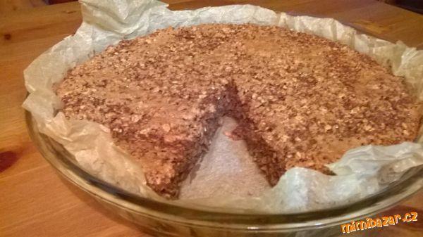 Ovesný cuketový koláč