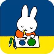 Nijntje gaat naar school - Daar leert Nijntje schrijven, zingen en rekenen. Als ze klaar is, mag ze van juf tekenen.   Help jij nijntje met sommen maken, schrijven, kralen tellen en tekenen? Luister naar het verhaal en je weet precies wat je moet doen.