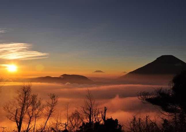 Sunrise sikunir, full of memories