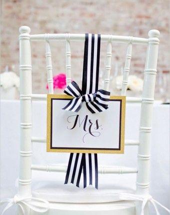 Unique Ideas for Wedding Chair Signs   Washington DC Weddings, Maryland Weddings, Virginia Weddings :: United With Love™ :: Fresh Inspiration, Ideas and Vendors