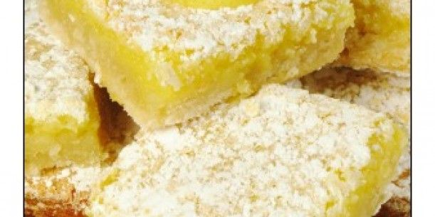 Lemon Bars | Stay at Home Mum