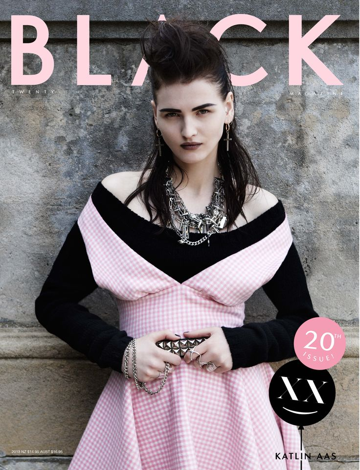 BLK #20 Katlin Aas cover Photo: Paul Empson Styling: June Nakamoto Hair:  Paolo Ferreira Make-up: Topolino Model: Katlin Aas at IMG Paris Katlin wears: Prada, Kiliwatch, Dary's and Bijules