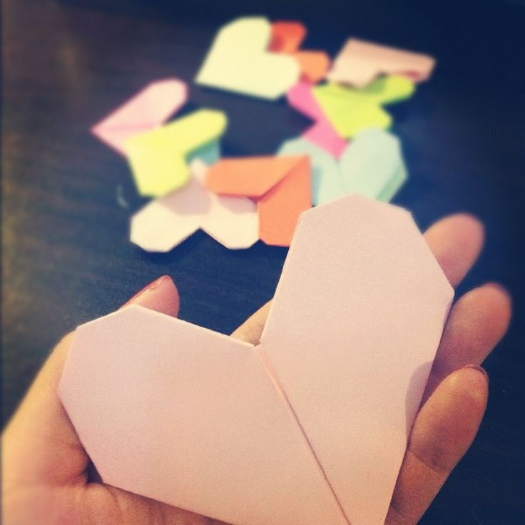 How to Make a Cute Origami Heart