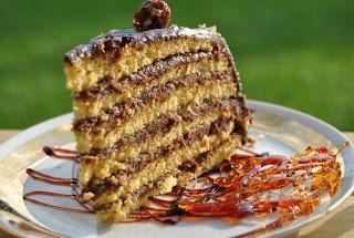 Lucy loves to bake: Dobošova torta