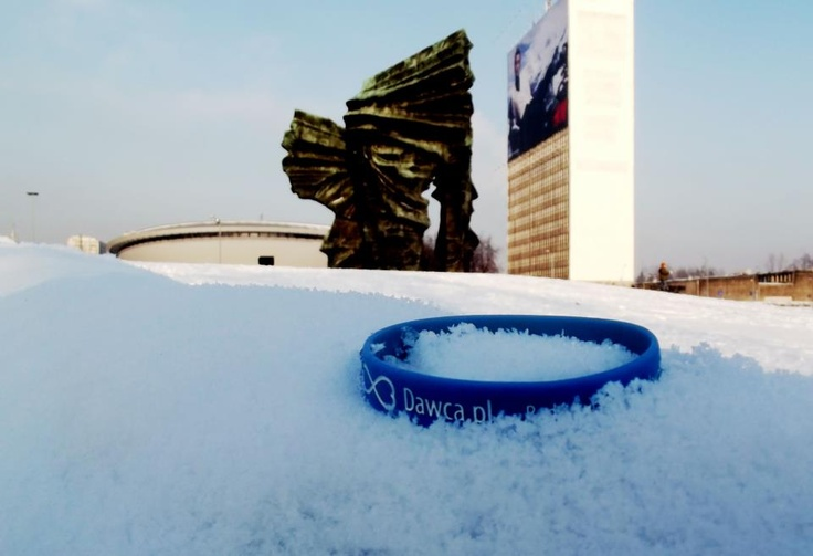 bo w Katowicach tez jest czasem biały śnieg ;)    Fot: Tereska Strama