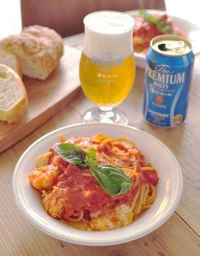 モッツァレラと海老のトマトパスタ|レシピブログ