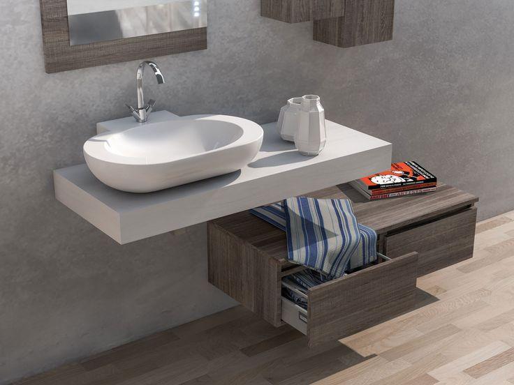 17 best images about urban mobili da bagno moderni componibili on pinterest ceramica tops - Mobili x bagno moderni ...