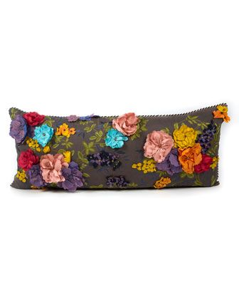 Covent+Garden+Floral+Lumbar+Pillow++by+MacKenzie-Childs+at+Horchow.