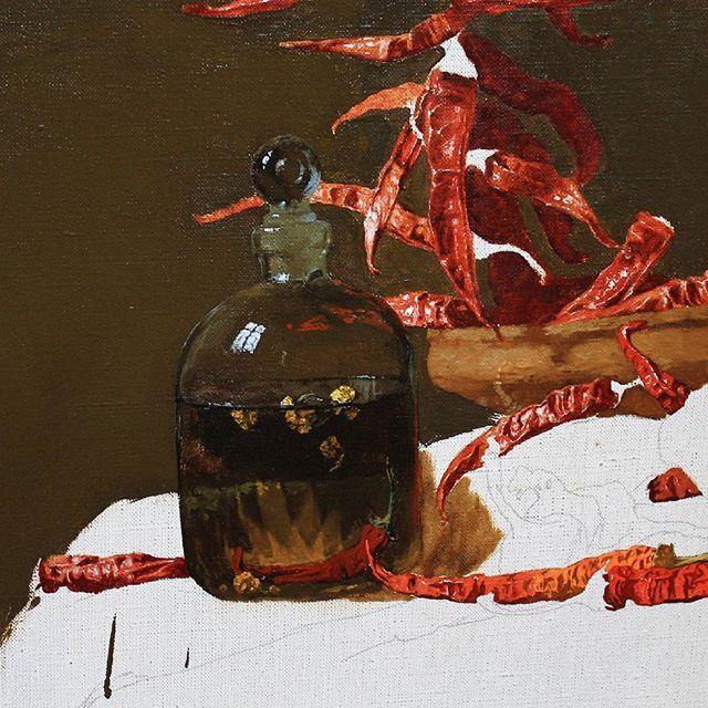 Fragment with spice 🌵🌋#rogowoi#rogowoiart#oilpainting#fineart#peper#oilcanvas#arts#art#painting#painter#blog#makeup#ukrainian#ukraine#contemporaryart#contemporaryrealism#художник#перец#натюрморт#stilllife#stilllifepainting#artstagram#instaart#paintanyway#drawanyway#contemporaryartist#живописьмаслом