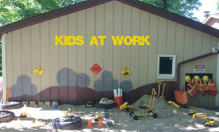 Construction site for kids!