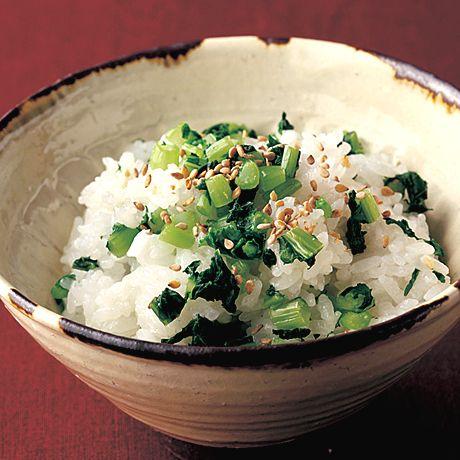 菜飯 | 土井善晴さんの混ぜご飯の料理レシピ | プロの簡単料理レシピはレタスクラブニュース