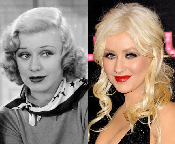 Ginger Rogers & Christina Aguilera. Coincidink?