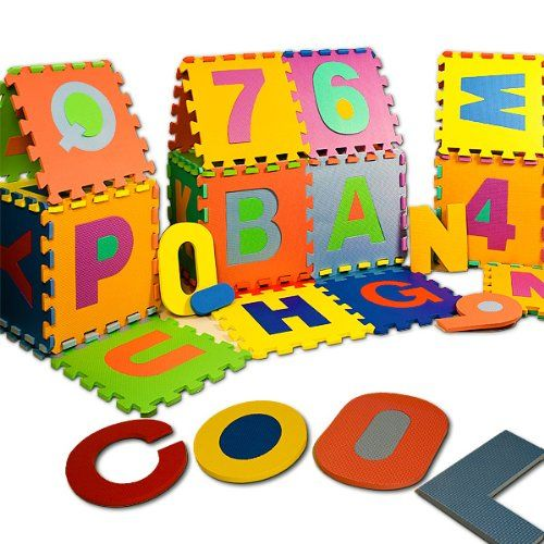 Puzzle enfant en bas âge en mousse 86 pièces alphabet chiffre tapis | Your #1 Source for Toys and Games