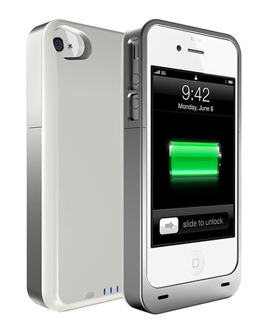 White Slim Battery Case for iPhone 5 by URGE Basics on #zulily