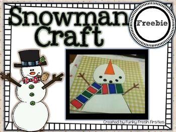Snowman Craftivity