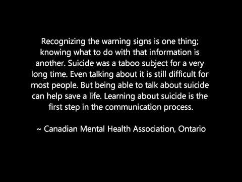 If you have been affected by suicide....  Thanks @Hey_MissP for using your voice.