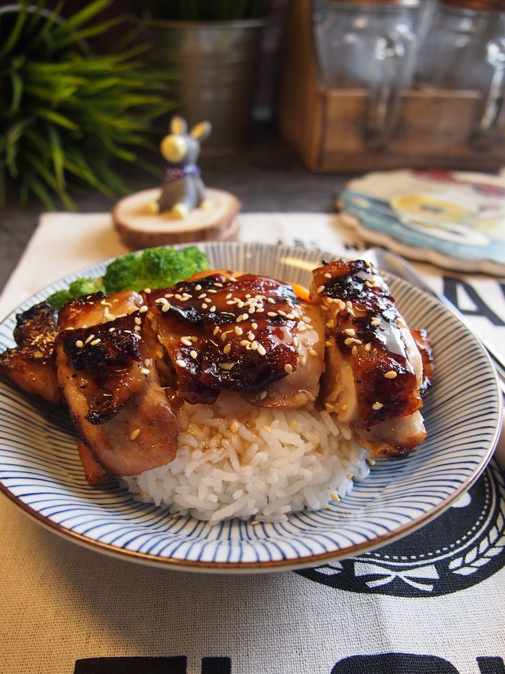 SUPER EASY Air fried Teriyaki Chicken Air Fryer in 2019