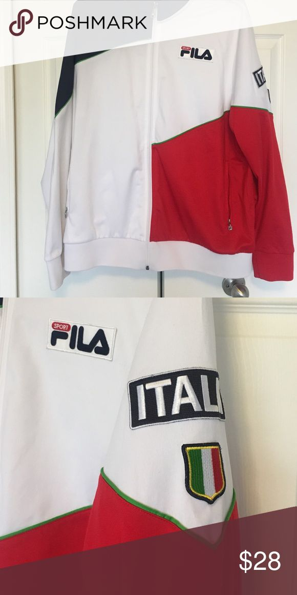 Fila men's lightweight jacket Fila men's lightweight jacket. With 2 zippered pockets Fila Jackets & Coats Lightweight & Shirt Jackets
