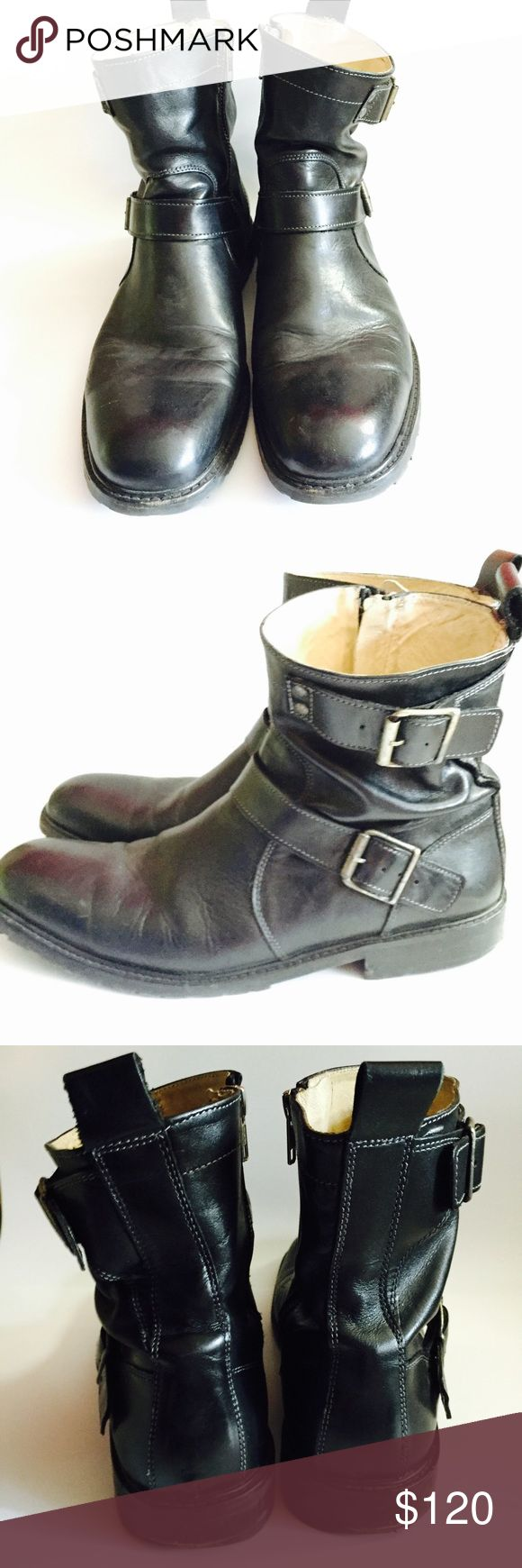 Reiss Men's boots Worn Reiss men's boots. Has signs of wear but no tear and in very good condition. Reiss Shoes Boots