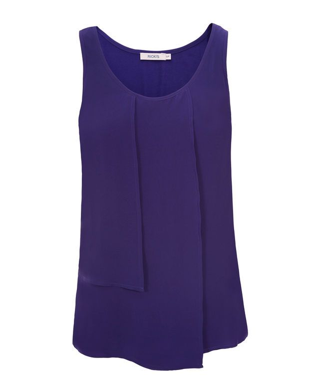 Vertical Cha Cha Tank, Purple #rickis #winter2016 #winter #winterfashion #rickisfashion #purple #colourofthemoment #loverickis