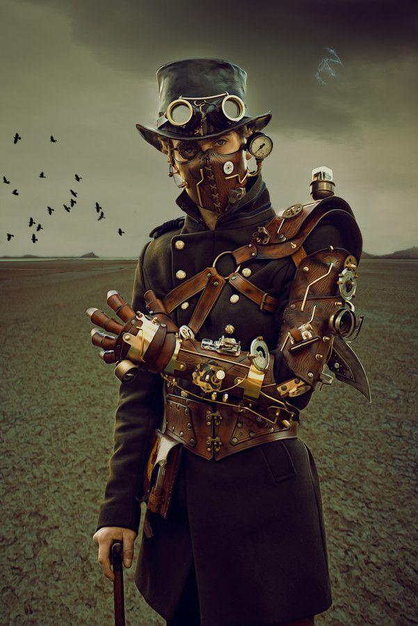#steampunk : un futuro con estilo victoriano que muestra tecnologías anacrónicas, que no parecen corresponder con la época a la que se hace referencia.