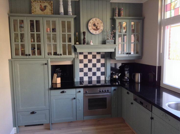 Mijn landelijke keuken bewerkt met Duck Egg Blue en Original White van ...