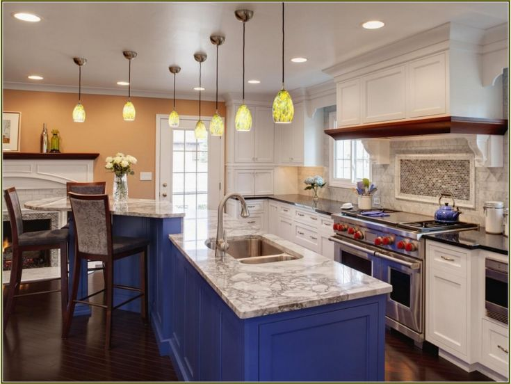 460 best kitchen ideas images on pinterest kitchen ideas for Best way to spray paint kitchen cabinets